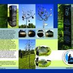 Litvakų atminties sodas. Lankstinukas